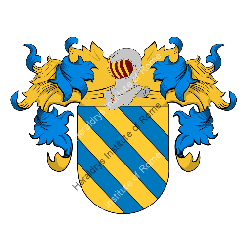 Coat of Arms of family Moriano