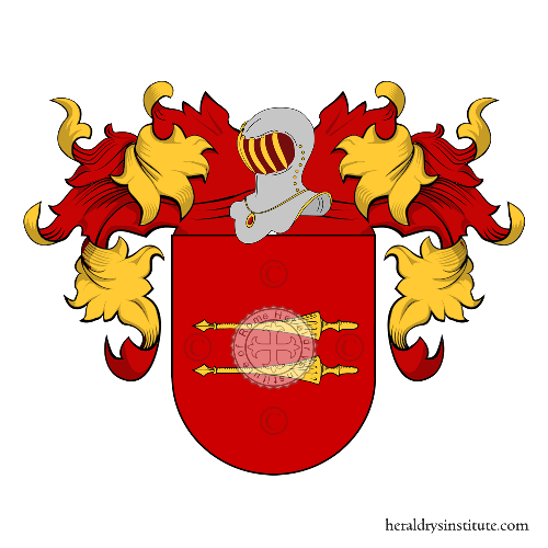 Coat of Arms of family Hugo