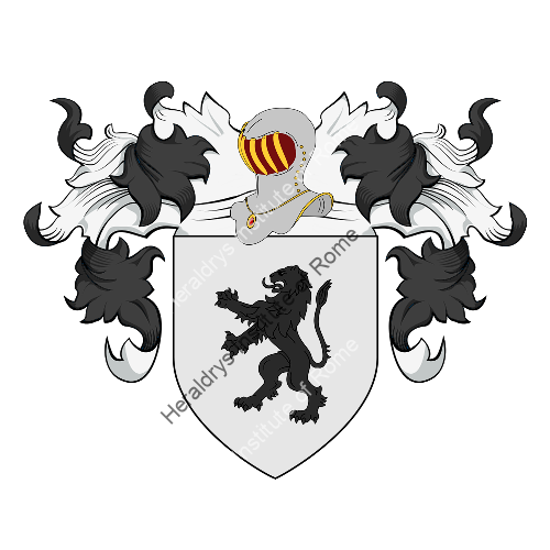 Coat of Arms of family Raveglia