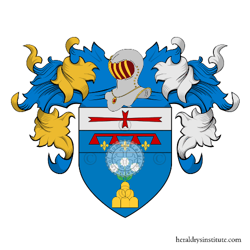 Coat of arms of family Rossi