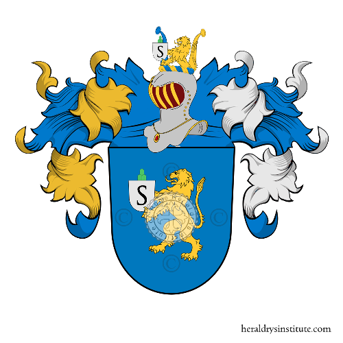 Coat of arms of family Frühauf