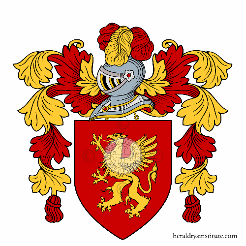 Coat of Arms of family Grifi