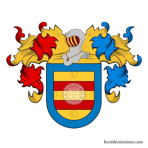Coat of arms of family Cabo