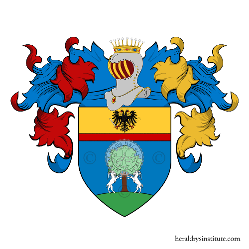 Coat of arms of family Trombi