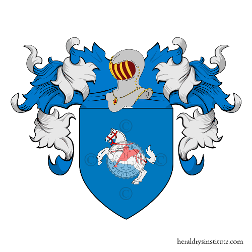 Coat of arms of family Accursi