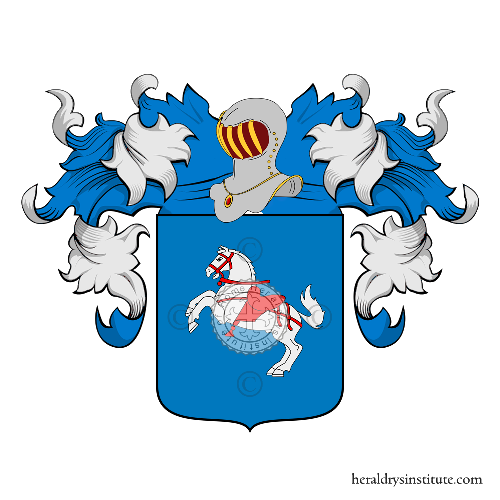 Coat of Arms of family Accorso