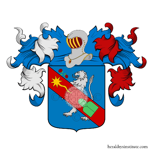 Coat of Arms of family Peyretti