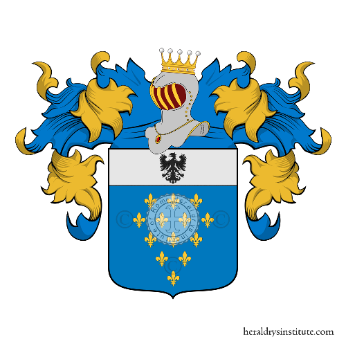 Coat of Arms of family Beccarini