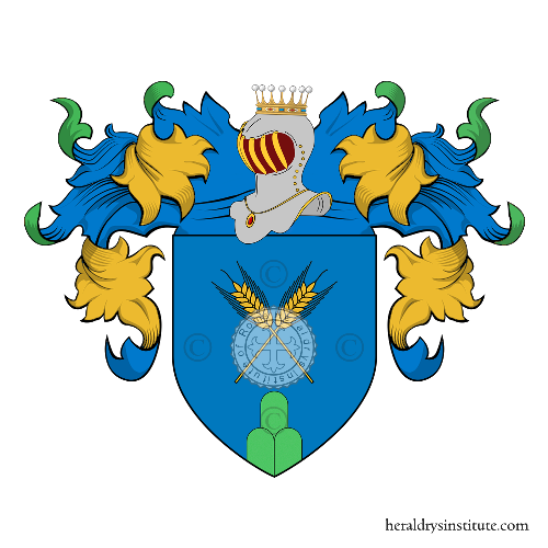 Coat of arms of family Pajno