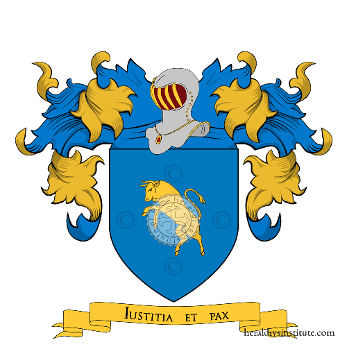 Coat of Arms of family Turina