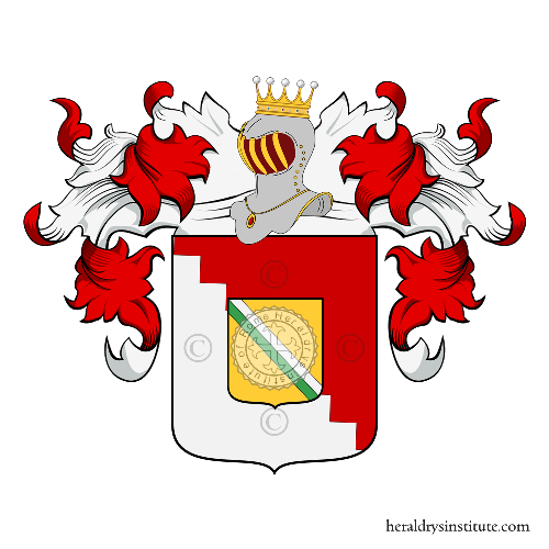 Coat of arms of family Rabacini