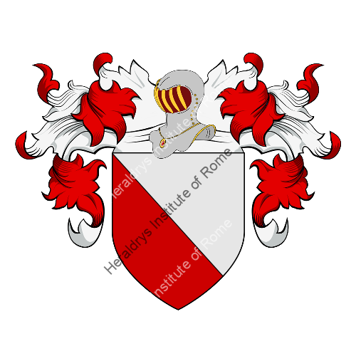 Coat of Arms of family Argento