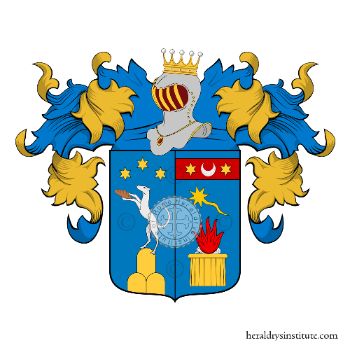 Coat of Arms of family Tozzi Condivi