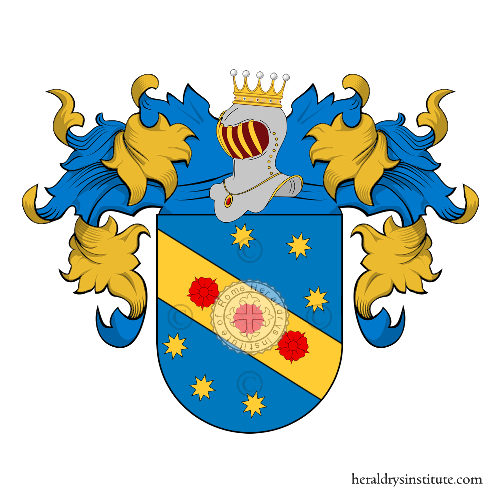 Coat of Arms of family Frignani
