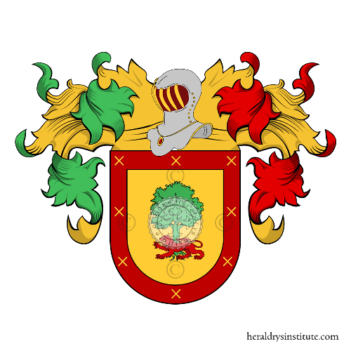 Coat of arms of family Eduardo