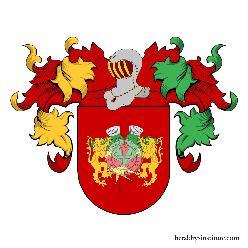 Coat of arms of family Cardoso