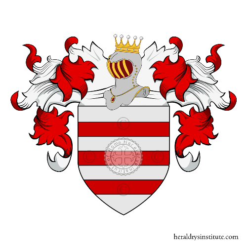 Coat of Arms of family Trinca