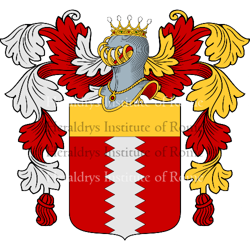 Coat of arms of family Falco