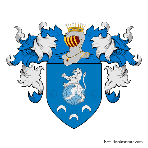 Coat of arms of family Taffini