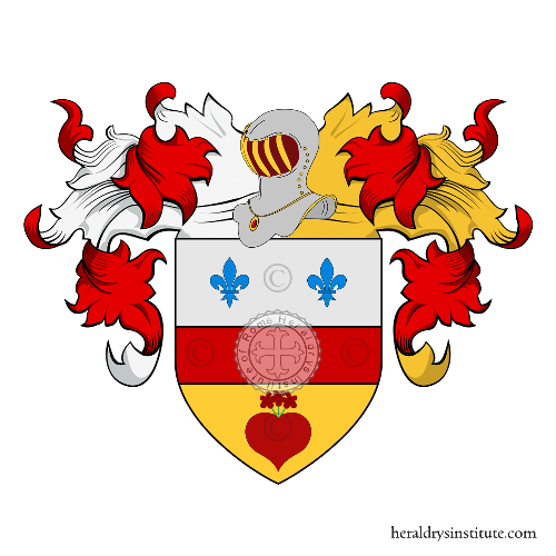 Coat of Arms of family Corradini