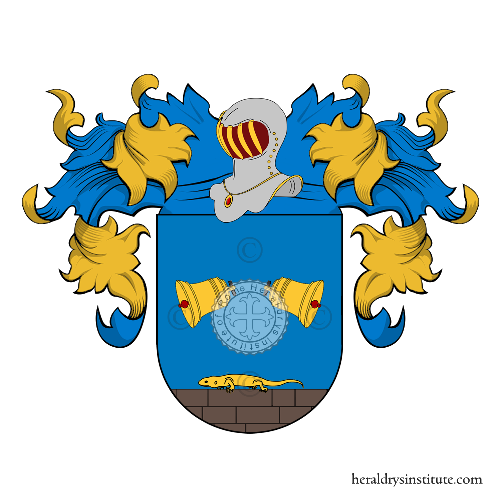 Coat of arms of family Cartes