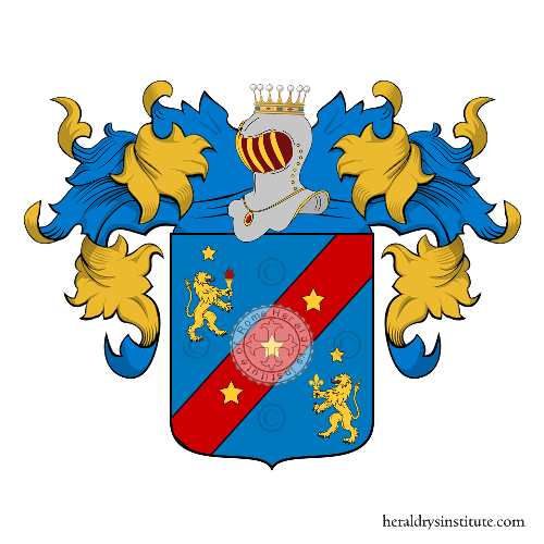 Coat of arms of family Zarone