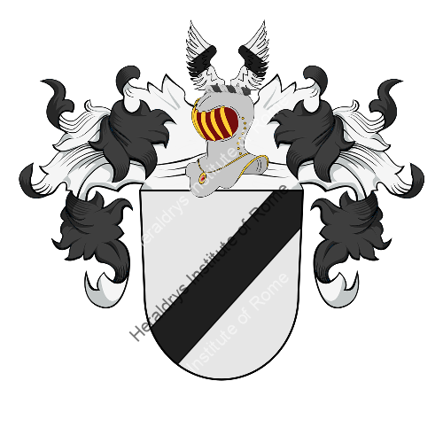 Coat of arms of family Raake