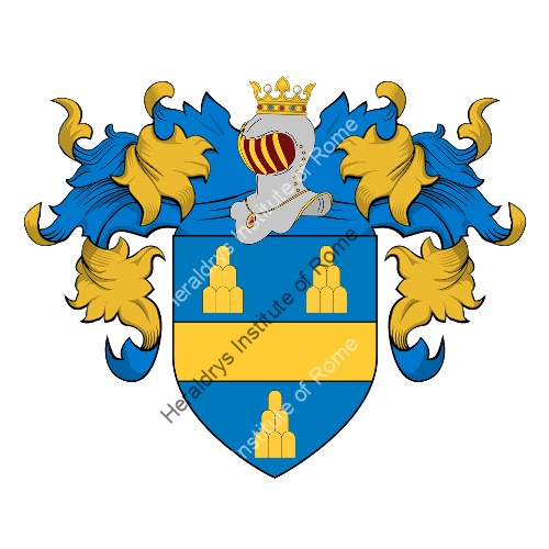 Coat of Arms of family Centeni