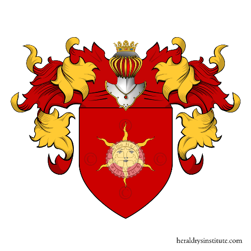 Coat of Arms of family Cacci