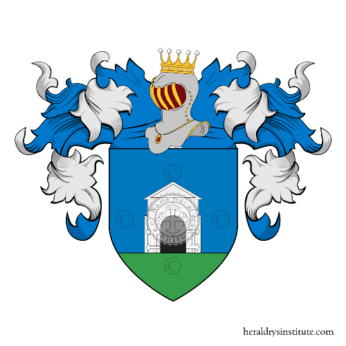 Coat of arms of family Porta