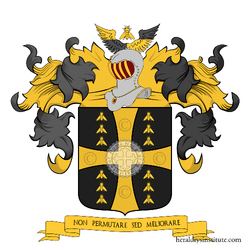 Coat of Arms of family Glenisson