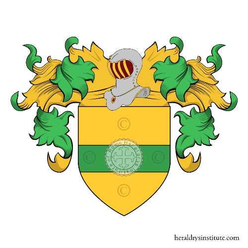 Coat of arms of family Borgato