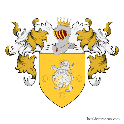 Coat of Arms of family Cotennacci