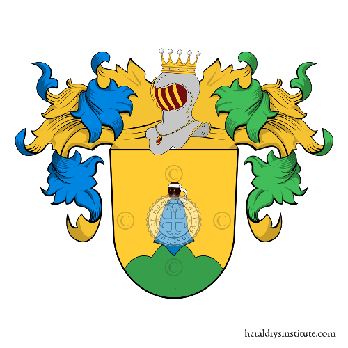 Coat of arms of family Morhart