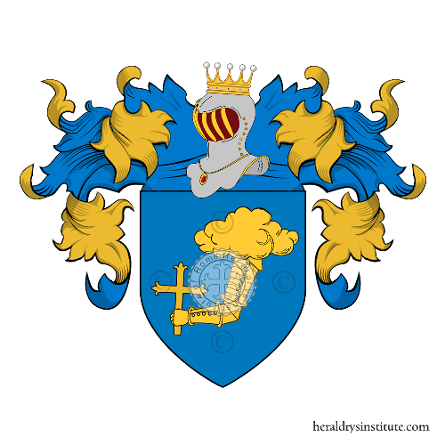 Coat of Arms of family Dohuet