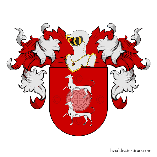 Coat of Arms of family Zubiria