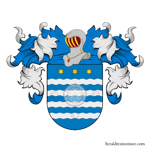 Coat of Arms of family Santamaria