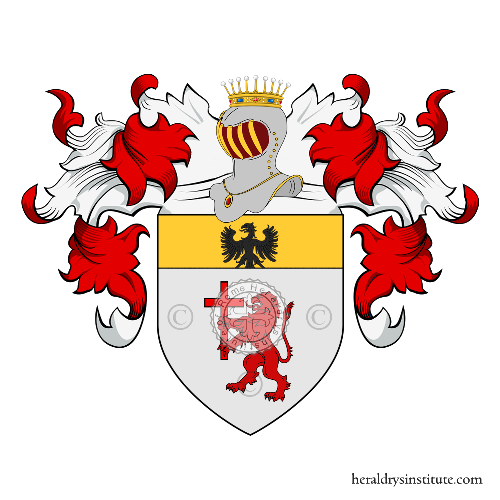 Coat of Arms of family Santa Maria