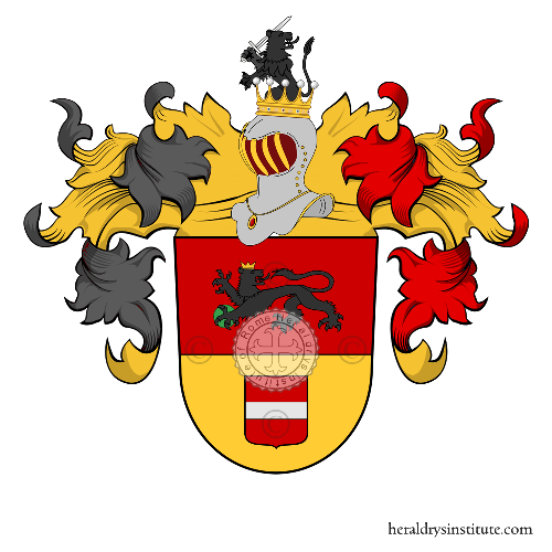 Coat of Arms of family Bartscherer de Löwenkron
