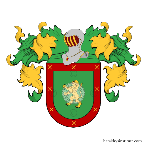 Coat of Arms of family Doce