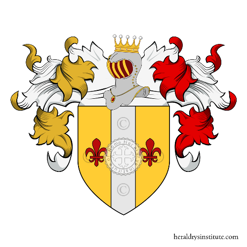 Coat of arms of family Coccolini