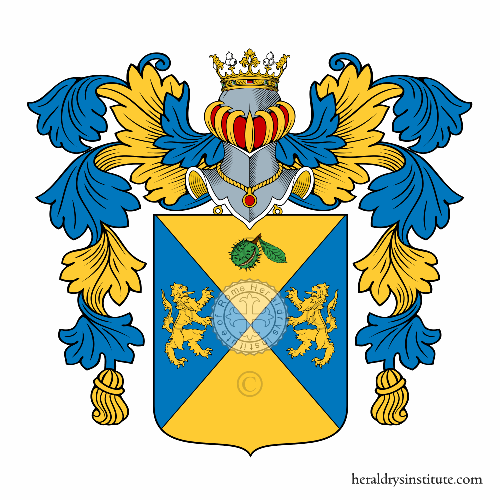 Coat of Arms of family Ricci