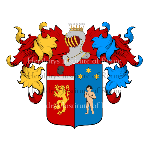 Coat of arms of family Galbo