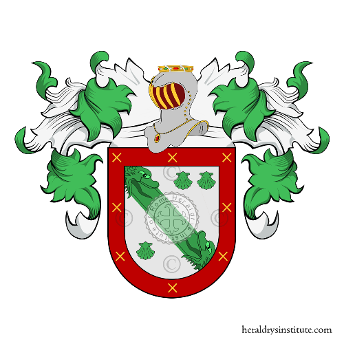 Coat of arms of family Natera
