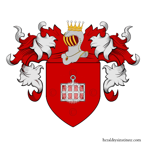 Coat of Arms of family Clappier