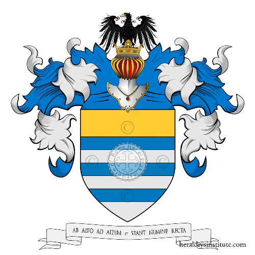 Coat of Arms of family de Clapiers