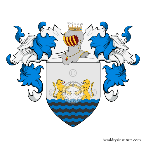 Coat of Arms of family Provenzale