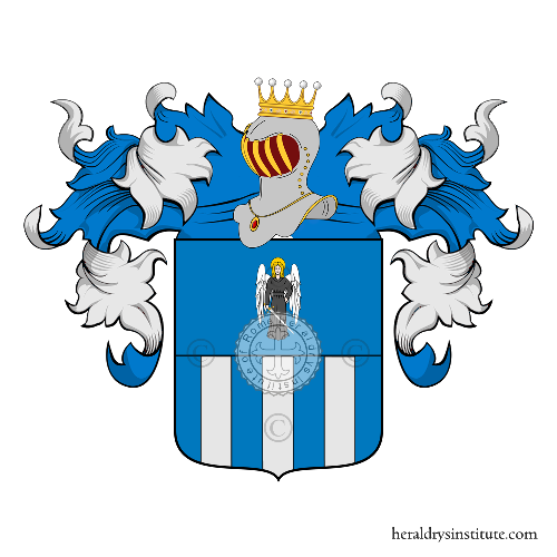 Coat of arms of family Angeleri