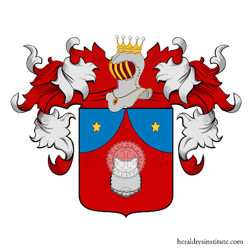 Coat of arms of family Panziroli