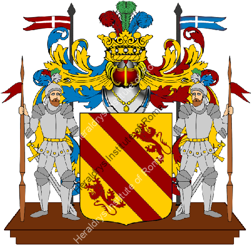 Coat of Arms of family Sicca